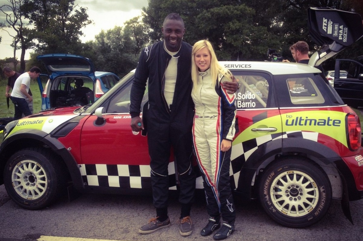 Louise Cook and Idris Elba